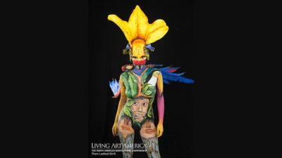 Extraños paisajes corporales: Federico Gauthier proyecta a nivel internacional el body painting uruguayo
