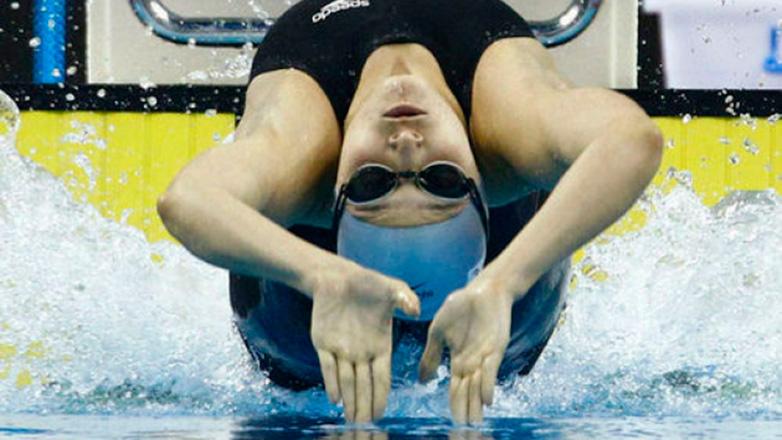 Inés Remersaro marcó nuevo récord nacional