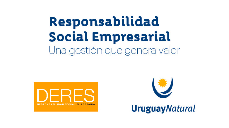 Uruguay Natural y Deres realizan taller sobre Responsabilidad Social Empresarial