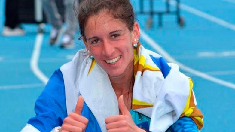 Pia Fernandez, medalla de oro en el Sudamericano Sub23