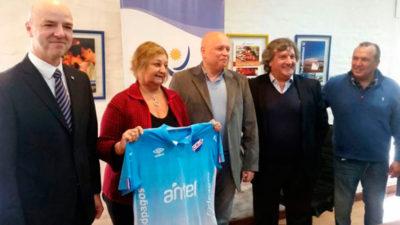 Nacional firmó convenio marca país