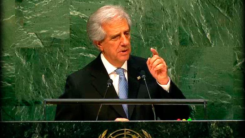 Tabaré Vázquez en la ONU