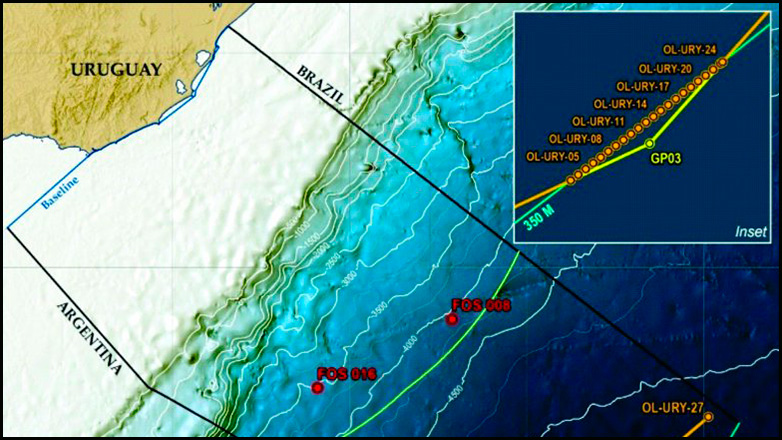 Tras ampliar el territorio marítimo 83 mil km², Uruguay abre la puerta a nuevas exploraciones