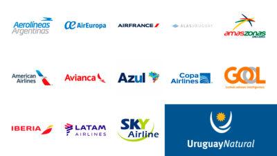 Uruguay, record histórico en conectividad aérea