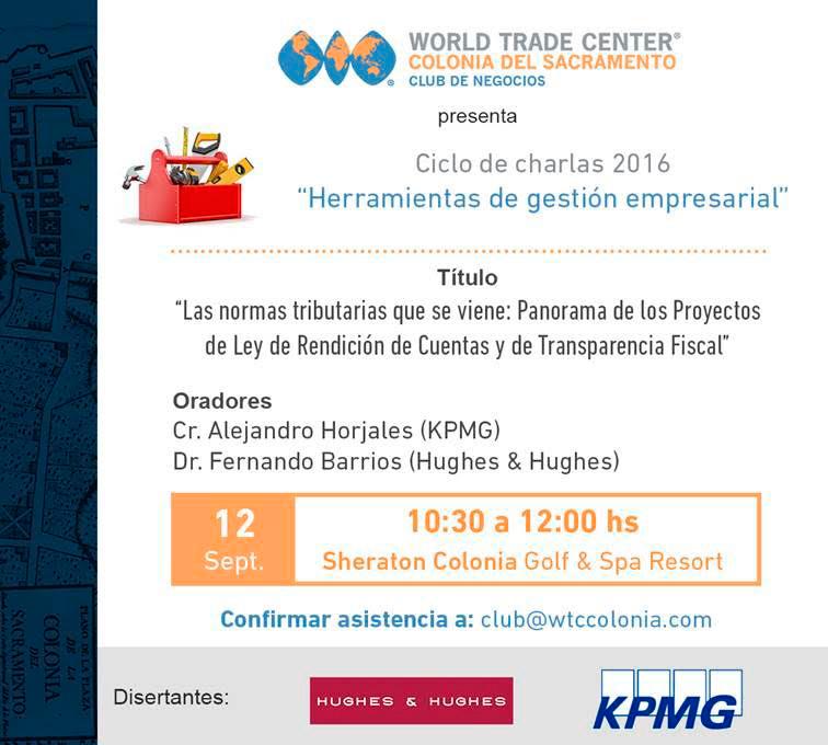 El Club de Negocios de WTC Colonia de Sacramento inaugura ciclo de charlas