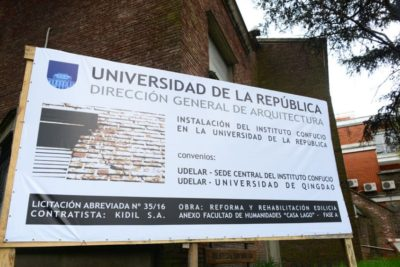 China aportará dinero para el Instituto Confucio