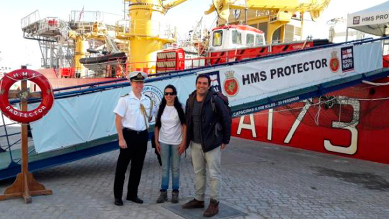 Investigadores uruguayos en la Antártida