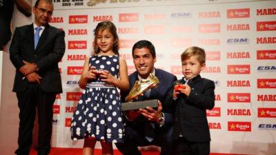 Segunda Bota de Oro para Luis Suárez