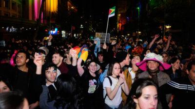 50.000 personas participaron de la Macha por la Diversidad