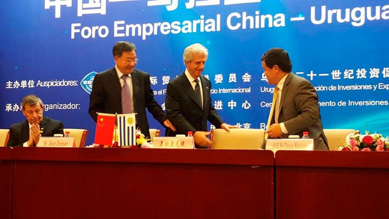 Avanza el Tratado de Libre Comercio entre Uruguay y China