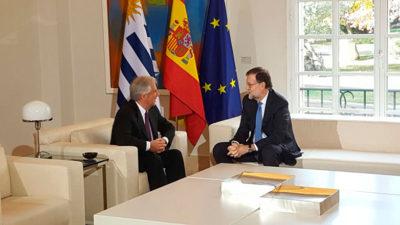 Presidente Vázquez en España: se reunión con Rajoy y presentó propuestas a inversores europeos