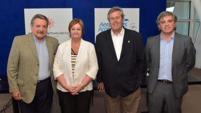 Aerolíneas Argentinas refuerza su conexión con el este uruguayo