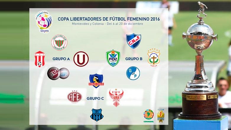 La Copa Libertadores Femenina se juega en Uruguay