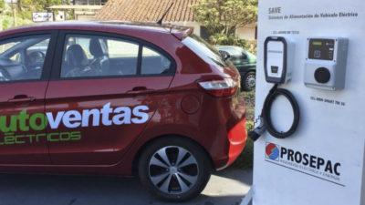 Autos eléctricos tendrán primer punto de recarga en Maldonado