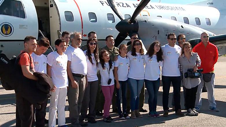 Estudiantes de San José y Treinta y Tres se sumaron a misión antártica