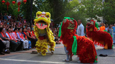 Orientales unidos: Festejos de la víspera del Año Nuevo chino en Plaza Seregni