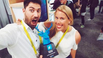 """Software uruguayo para diseñar caramelos fue la """"mejor innovación"""" de América Latina"""