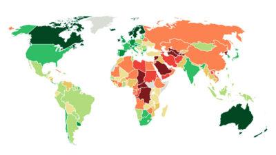 The Economist colocó a Uruguay entre los 20 países con mejor democracia del mundo