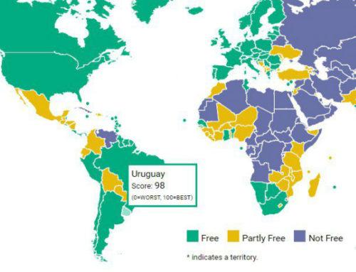 Uruguay entre los 10 países del mundo con mayor libertad, según Freedom House
