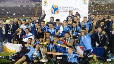 Así saludaron las estrellas de Uruguay a los juveniles