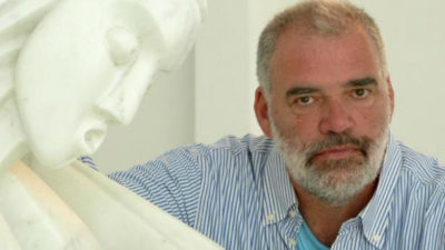 La emotiva despedida del artista Pablo Atchugarry a su hermano