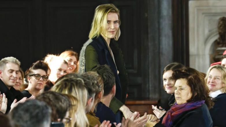 Gabriela Hearst realizó su primer desfile en la Semana de la Moda de New York