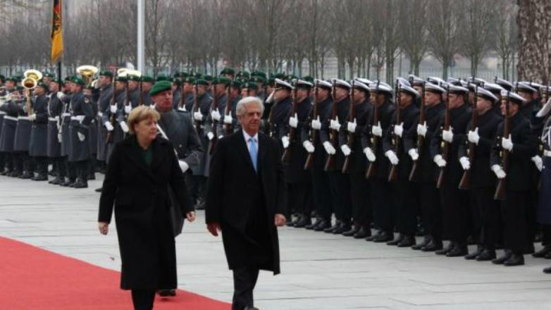 """Presidente Vázquez en Alemania: Uruguay necesita """"recibir inversión extranjera"""""""