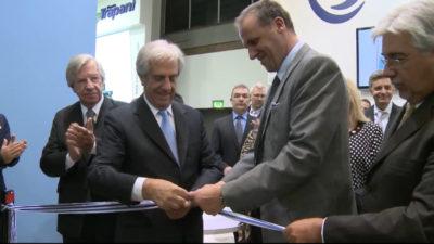 Presidente Vázquez inauguró estand de Uruguay en la feria Fruit Logística de Berlín