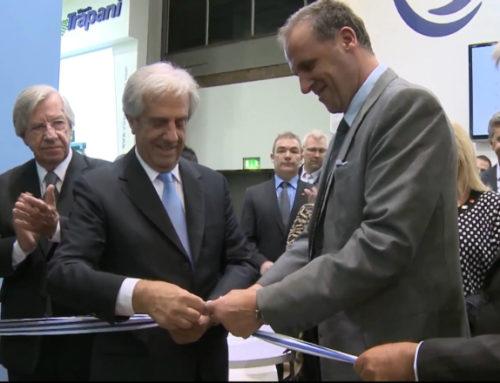 Presidente Vázquez inauguró stand de Uruguay en la feria Fruit Logística de Berlín