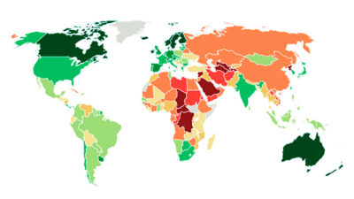 Uruguay is one of the 20 best democracies in the world