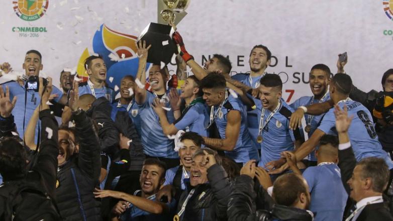 Uruguay campeón Sudamericano Sub 20