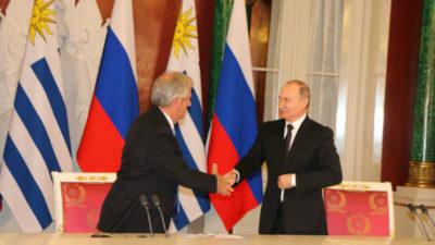 Vázquez y Putin: encuentro en el Kremlin