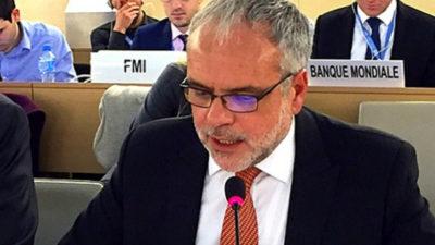 Uruguay expresa que no existe conflicto cuya causa o consecuencia no sea la violación de DD.HH