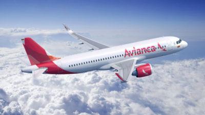 Aerolínea Avianca cubrirá nueva ruta Bogotá-Montevideo-Bogotá