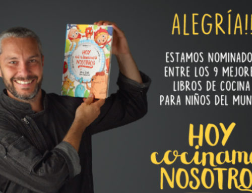 """""""Hoy Cocinamos Nosotros"""" de Diego Ruete y Aguaclara Editorial, nominado entre los nueve mejores libros de cocina para niños del mundo"""