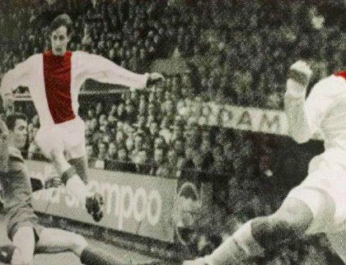 El homenaje de Luis Suárez a Johan Cruyff