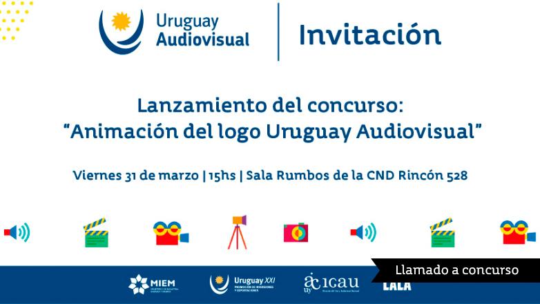 Llamado a Concurso para animar el logo de Uruguay Audiovisual