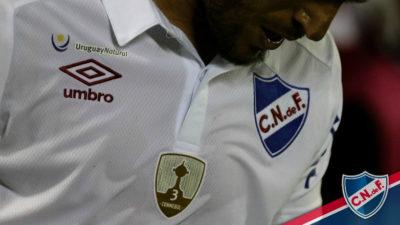 """""""UruguayNacional"""": con la marca país en la camiseta, debutó con éxito en la Conmebol Libertadores Bridgestone"""