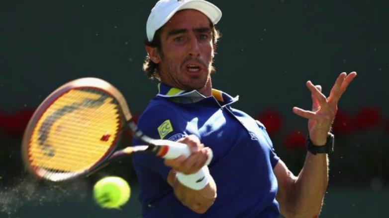 Cuevas fue eliminado de Indian Wells pero consiguió una marca histórica