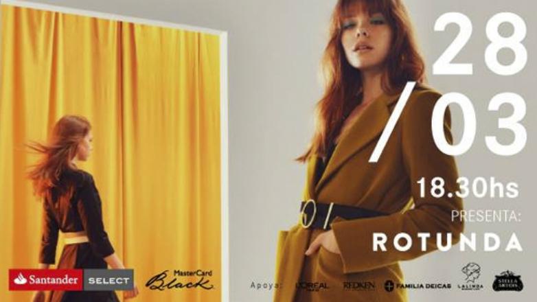Rotunda busca dejar huella en el Mercedes-Benz Fashion Day