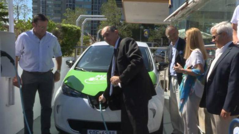En Punta del Este se podrán recargar autos eléctricos