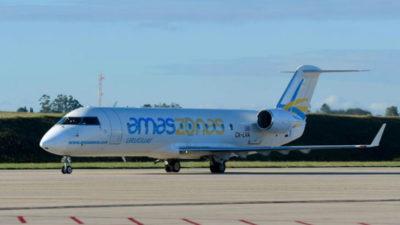Nuevo avión de Amaszonas-Uruguay estará operativo en primeros días de mayo