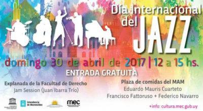 Uruguay se suma a las celebraciones por el Día Internacional del Jazz