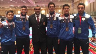 La selección uruguaya de karate ganó 7 medallas en el USA Open