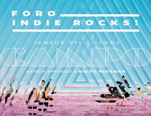 Campo presenta su nuevo disco Tambores del Cosmo en México