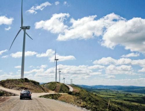 El molino eólico más grande de Latinoamérica está en Flores