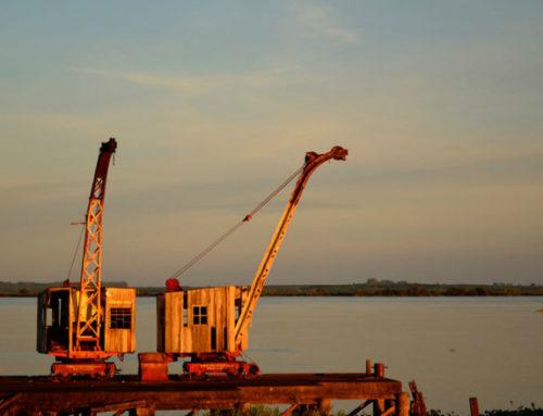 Primera búsqueda patrimonial subacuática en la zona del ex Frigorífico Anglo