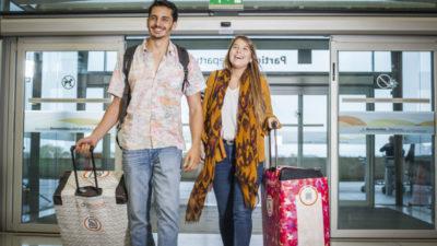 En Uruguay crearon ChillTravel, una funda inteligente para valijas