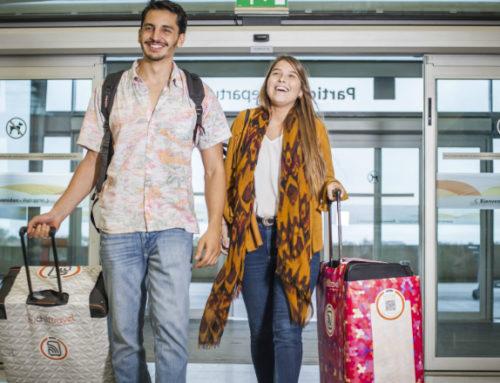 En Uruguay se creó ChillTravel, una funda inteligente para valijas