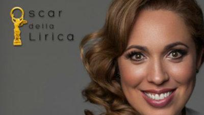 """María José Siri y su """"Oscar"""" de la lírica"""